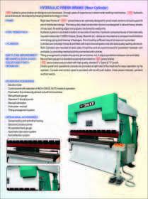 Hydraulic Press Barakes Exporters