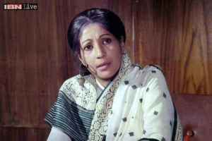Suchitra Sen showing steady improvement