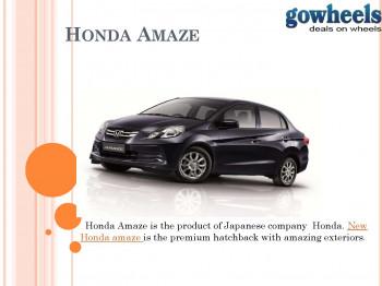 Honda Amaze Overview