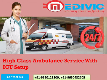 Well Equipped Ambulance Service in Patna and Darbhanga, Bihar by Medivic
