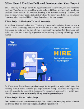 hire dedicated development team