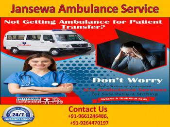 Fast Moving Road Ambulance Service in Samastipur and Darbhanga