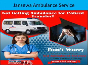 Jansewa ICU Ambulance Service In Darbhanga and Gaya