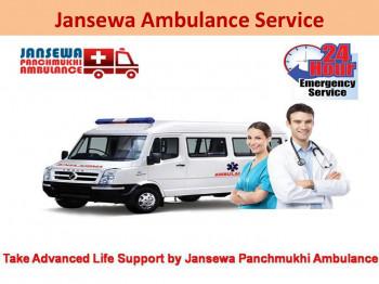 Right Away Road Ambulance Service in Kapashera and karolbagh Delhi by Jansewa Panchmukhi Ambulance