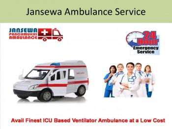 Economic Ambulance Service in MangolPuri Mayur Vihar by Jansewa Panchmukhi Ambulance