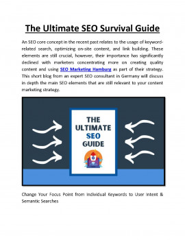 The Ultimate SEO Survival Guide
