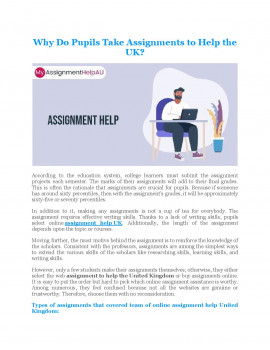Why Do Pupils Take Assignments to Help UK?